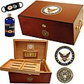 U.S. Navy Cigar Humidor One