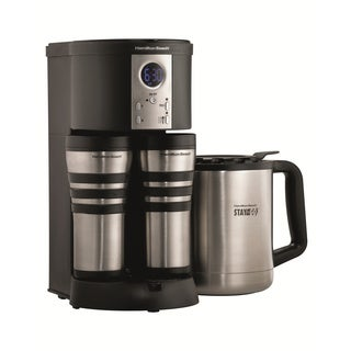 Hamilton Beach 45237 Stay or Go Custom Pair Coffeemaker