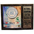 University of North Carolina 2009 National Champions Plaque