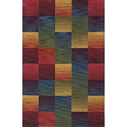 Yellow Wool Rug (5' x 8')