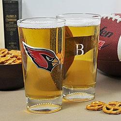Cardinals NFL Pint Glasses (Set of 2)