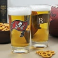 Buccaneers NFL Pint Glasses (Set of 2)