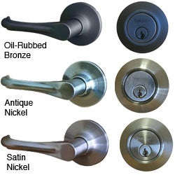 Sure-Loc Helena Entry Lever with Keyed Alike Deadbolt