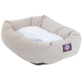 Majestic Pet Bagel-style Khaki 40-inch Dog Bed