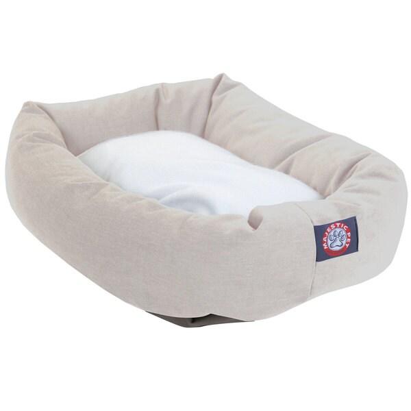 Majestic Pet Bagel-style Khaki 40-inch Dog Bed