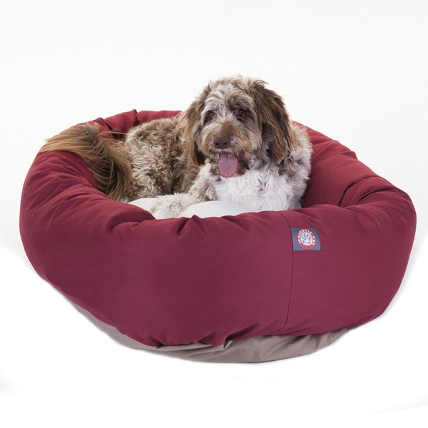 Majestic Pet Bagel-style 52-inch Dog Bed