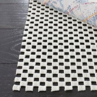 Safavieh Set of Two Grid Non-slip Rug Pads (2' x 4')