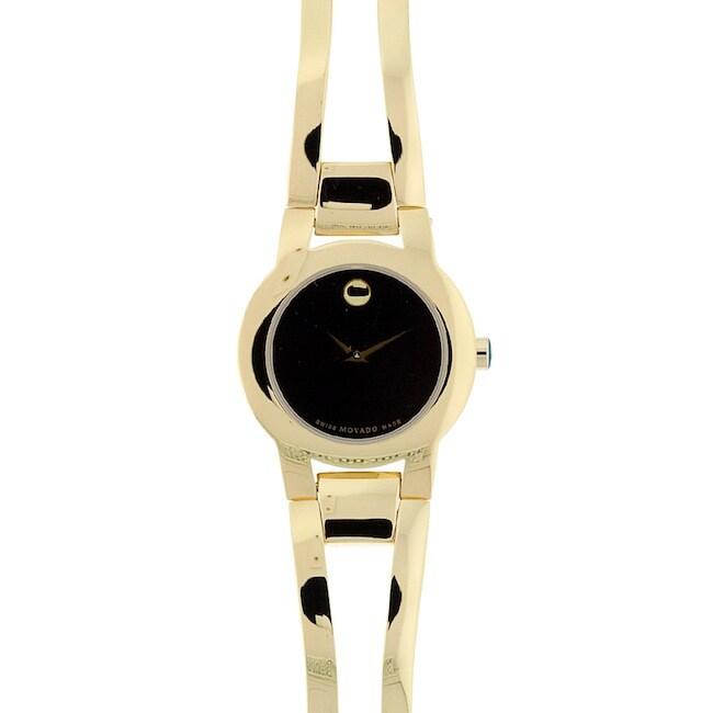 Movado Women's 604758 Amorosa Goldtone Watch