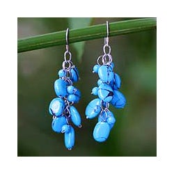 'Clouds' Cluster Earrings (Thailand)