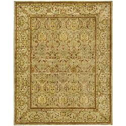 Safavieh Handmade Mahal Light Brown/ Beige N.Z. Wool Rug (8'3 x 11')