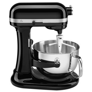 KitchenAid KP26M1XOB Onyx Black 6-quart Pro 600 Bowl-Lift Stand Mixer **with Cash Rebate**