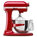 KitchenAid KP26M1XER Empire Red 6-quart Pro 600 Bowl-Lift Stand Mixer *with Rebate*