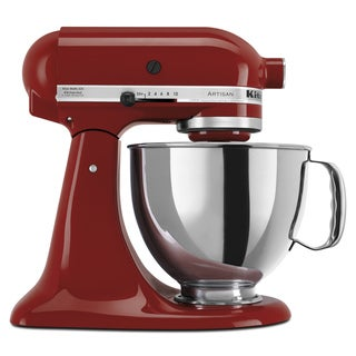 KitchenAid KSM150PSGC Gloss Cinnamon 5-quart Artisan Stand Mixer *plus Overstock $30 gift card and $30 KitchenAid mail-in-rebate