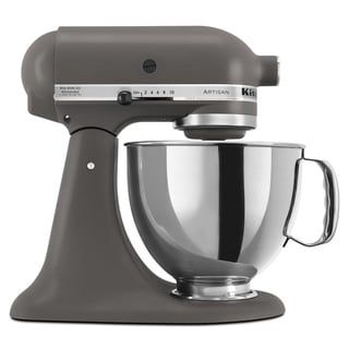 KitchenAid KSM150PSGR Imperial Gray 5-quart Artisan Tilt-Head Stand Mixer **with Cash Rebate**