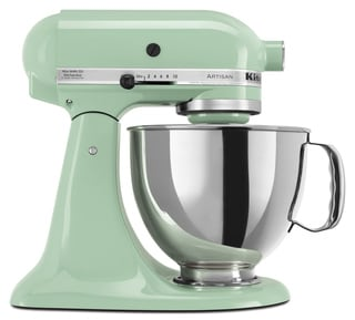 KitchenAid KSM150PSPT Pistachio 5-quart Artisan Tilt-Head Stand Mixer **with Rebate**