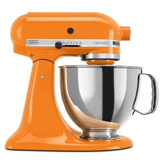 KitchenAid KSM150PSTG Tangerine 5-quart Artisan Tilt-Head Stand Mixer ** with $50 Cash Mail-in Rebate **