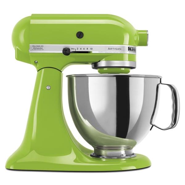 KitchenAid KSM150PSGA Green Apple 5-quart Artisan Tilt-Head Stand Mixer