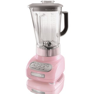 KitchenAid KSB560PK Pink 5-Speed Blender with Polycarbonate Jar