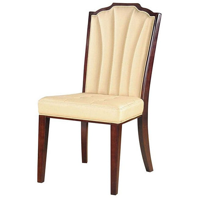 Estate Leather Dining Chairs (Set of 2)
