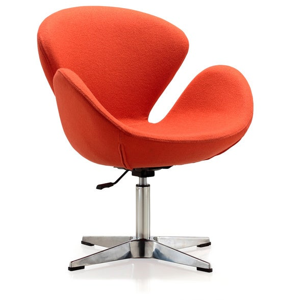 Swan Adjustable Chair Orange - 12439458 - Overstock.com Shopping - Great Deals on Ceets Living ...