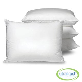 Allergy Free Anti-microbial Pillows with Ultra Fresh (Set of 4)