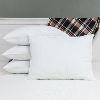 SwissLux Allergy Free Anti-microbial Pillows with Ultra Fresh (Set of 4) - White