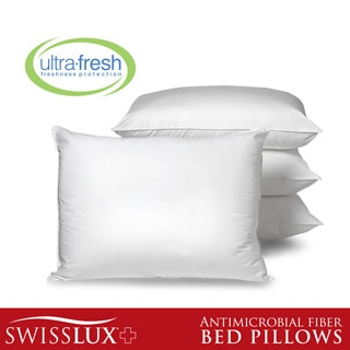 SwissLux Allergy Free Anti-microbial Pillows with Ultra Fresh (Set of 4)