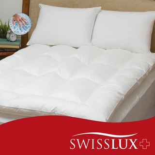 Swiss Lux Featherbed and Pillow Set