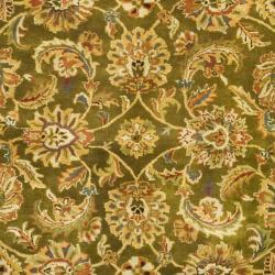 Safavieh Handmade Classic Olive/ Beige Wool Rug (9'6 x 13'6)