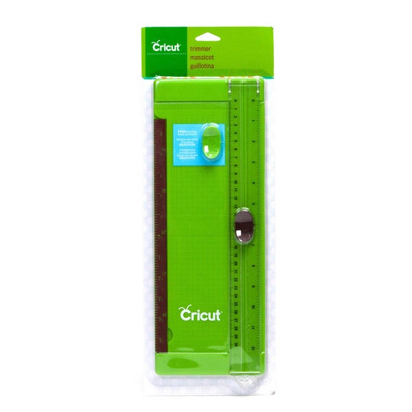 12-inch Cricut Green or Gray Plastic Paper Trimmer with Scoring Blade