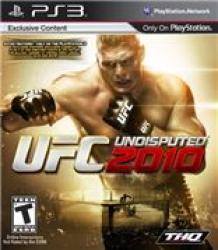 PS3 - UFC Undisputed 2010