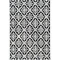 Safavieh Hand-hooked Lexington Ivory/ Black Polypropylene Rug (6' x 9')
