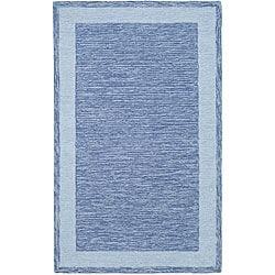 Safavieh Hand-hooked Gabeh Blue Rug