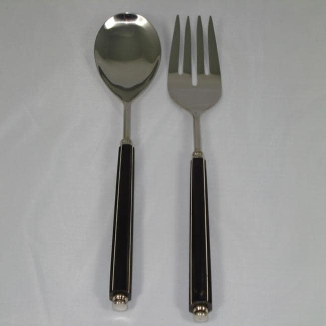 Black Bone 2-piece Serving Set (India)