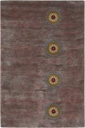 Hand-tufted Mandara Wool Rug (7'9 Round)