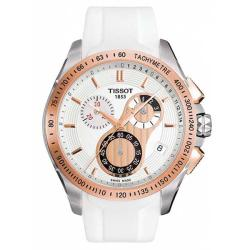 Tissot Men's T-Sport Racing Goldtone Stainless Steel Chronograph Watch