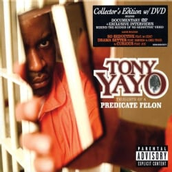 TONY YAYO - THOUGHTS OF A PREDICATE FELON