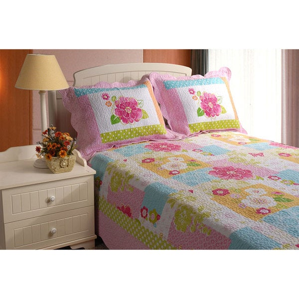 Greenland Home Fashions Adora 3-piece Quilt Set