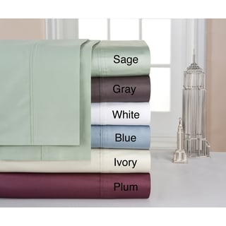 Pima Cotton 400 Thread Count Deep-fitted Sheet Set