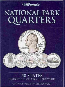 National Parks Quarters: 50 States District of Columbia & Territories: Collector's Quarters Folder 2010-2021 (Board book)