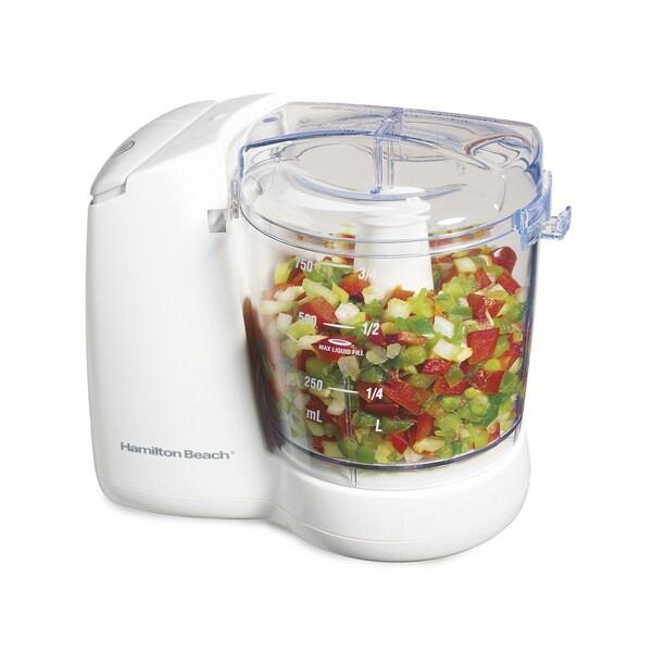 Hamilton Beach White 3 Cup Food Chopper 6160999