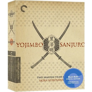 Yojimbo/Sanjuro: Two Films by Akira Kurosawa Box Set  - Criterion Collection (Blu-ray Disc)