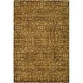 Safavieh Handmade Majestic Beige Wool Area Rug (7'6
