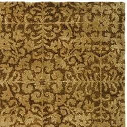 Safavieh Handmade Majestic Beige Wool Rug (6' x 9')