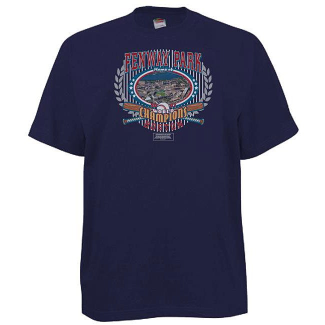 Commemorative Fenway Park Navy T-shirt