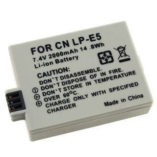 INSTEN Canon LP-E5 Compatible Li-Ion Battery for EOX Rebel Xsi