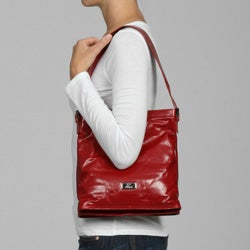 Cosmo Italian Leather North-South-Style Handbag