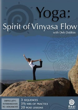 Yoga: Spirit of Vinyasa Flow with Pose Guide (DVD)