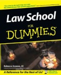 Law School for Dummies (Paperback)