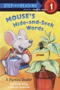 Mouse's Hide-And-Seek Words: A Phonics Reader (Paperback)